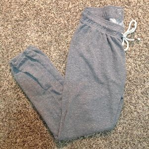 Cute grey sweats for lounging